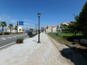 千葉県館山市北条海岸 海が見える土地 海沿い、海前の物件・不動産 海岸通りの一等地!