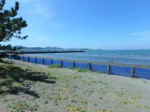 千葉県館山市北条海岸 海が見える土地 海沿い、海前の物件・不動産 夏の花火大会は特等席