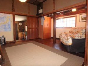 千葉県館山市水岡の古民家 館山田舎暮らし物件 館山の不動産 元々は玄関と客間です