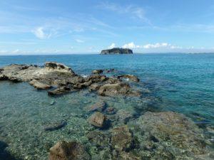 千葉県安房郡鋸南町下佐久間の不動産 アルカディアの物件 海一望の別荘 透明度が非常に高い下の海