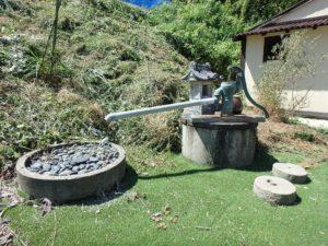 千葉県館山市水岡の古民家 館山田舎暮らし物件 館山の不動産 井戸も元気です
