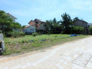 千葉県館山市北条海岸 海が見える土地 海沿い、海前の物件・不動産 147坪で十分な広さ