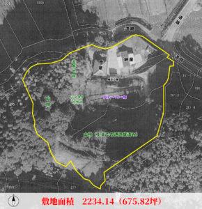 売再生古民家 館山市水岡 4DK 2380万円 物件概略図