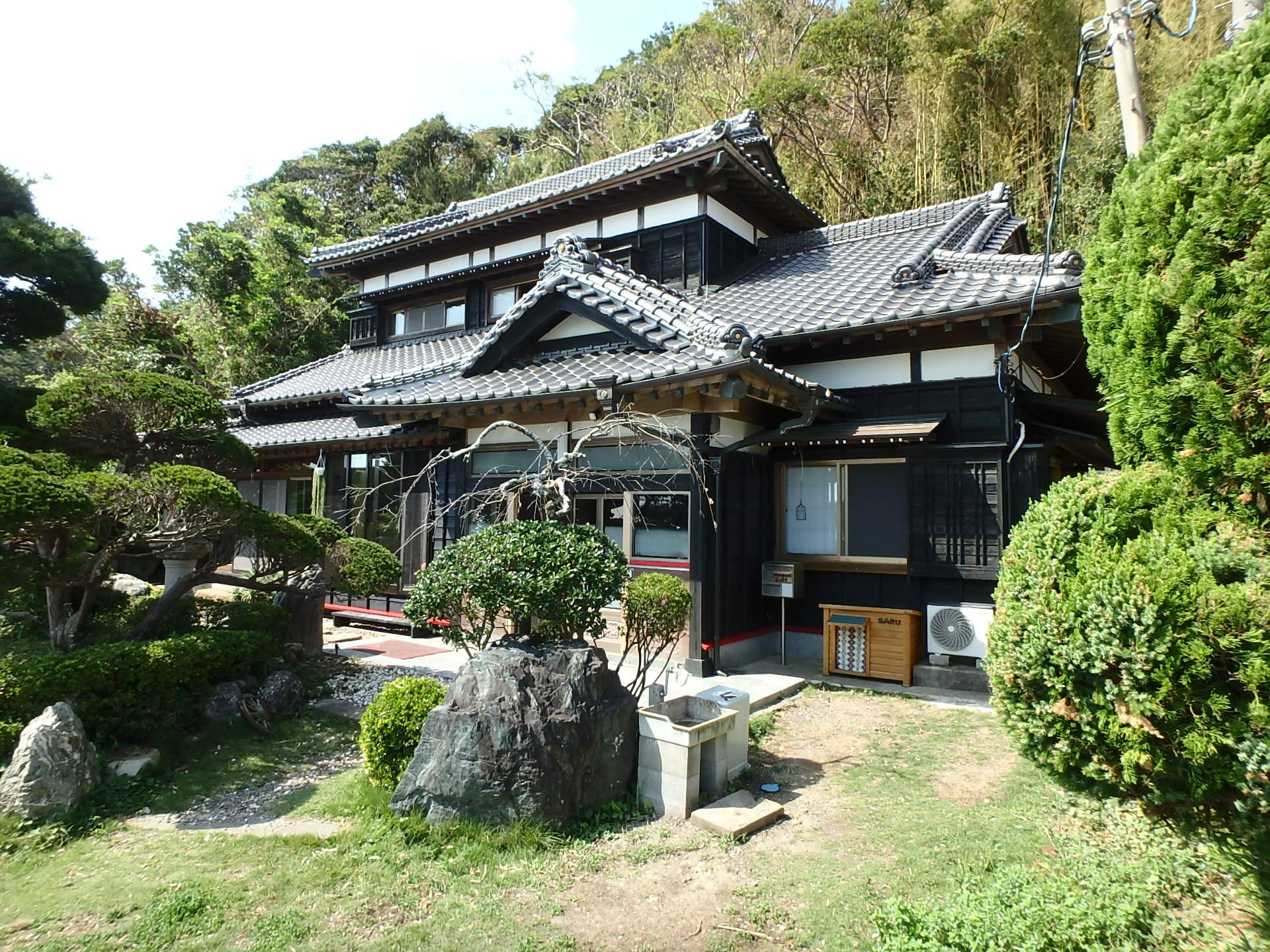 千葉県館山市亀ヶ原の不動産 和の伝統建築 カフェや宿泊施設向き