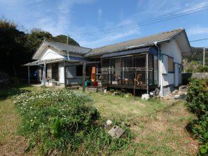 千葉県鴨川市江見吉浦の不動産 中古住宅 海そばの物件 磯の香りに包まれ暮らす