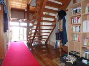 千葉県館山市亀ヶ原の不動産 田舎暮らし物件 日本家屋 廊下ホールは一間幅