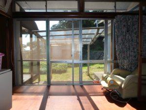千葉県鴨川市江見吉浦の不動産 中古住宅 海そばの物件 南側には広縁があります