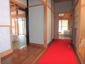 千葉県館山市亀ヶ原の不動産 田舎暮らし物件 日本家屋 奥(西側)には二部屋
