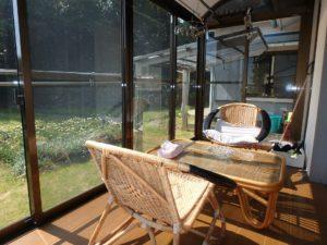 千葉県鴨川市江見吉浦の不動産 中古住宅 海そばの物件 洋室の南側はサンルーム
