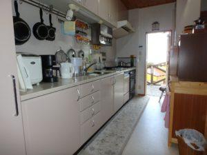 千葉県館山市浜田の不動産 海が見える別荘 海一望の物件 ワイドなキッチンですね