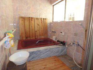 千葉県館山市亀ヶ原の不動産 田舎暮らし物件 日本家屋 浴室も凝ってます