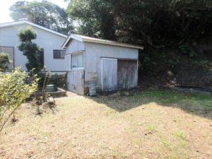 千葉県鴨川市江見吉浦の不動産 中古住宅 海そばの物件 古倉庫もあります