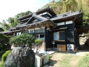 千葉県館山市亀ヶ原の不動産 田舎暮らし物件 日本家屋 重厚感ある外観ですね