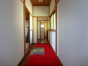 千葉県館山市亀ヶ原の不動産 田舎暮らし物件 日本家屋 2階は続間で2部屋