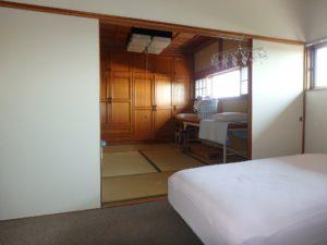 千葉県館山市亀ヶ原の不動産 田舎暮らし物件 日本家屋 続間の8帖和室