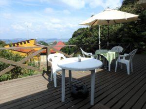 千葉県館山市浜田の不動産 海が見える別荘 海一望の物件 ここでランチやモーニング