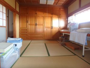千葉県館山市亀ヶ原の不動産 田舎暮らし物件 日本家屋 造り付家具が有りますね