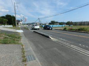 千葉県館山市亀ヶ原の不動産 田舎暮らし物件 日本家屋 道路は県道に面してます