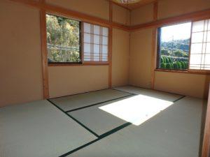 千葉県館山市見物の不動産 中古住宅 海浜エリア リフォーム済み 2階は和室が二間