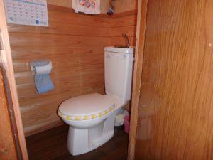 千葉県南房総市千倉町北朝夷の不動産、南房総の中古住宅、別荘、移住、水洗トイレです