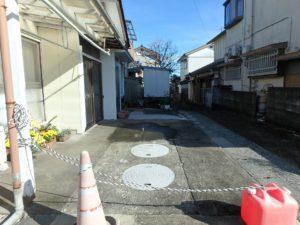 千葉県南房総市千倉町北朝夷の不動産、南房総の中古住宅、別荘、移住、駐車は1台分です