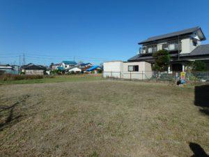 千葉県館山市北条の不動産 館山の土地 住宅用地 75坪の実用性高い物件です