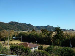 千葉県鴨川市花房の不動産 新築戸建て 田舎移住 亀田病院 里山と青い空が清々しい環境
