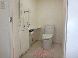 千葉県南房総市高崎の不動産、海前の物件、豪華別荘、ハーバーアイランド岩井、廊下のトイレです