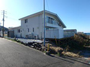 千葉県南房総市高崎の不動産、海前の物件、豪華別荘、ハーバーアイランド岩井、北側は2階があります