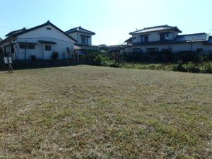 千葉県館山市北条の不動産 館山の土地 住宅用地 陽光燦々で気持ち良い