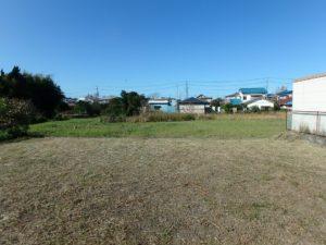 千葉県館山市北条の不動産 館山の土地 住宅用地 西側が開けてます