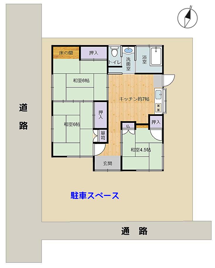 千葉県南房総市千倉町北朝夷の中古住宅 物件概略