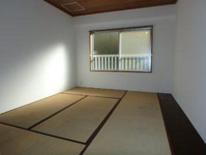 千葉県館山市洲崎の不動産、マンション、洲崎ロイヤルマンション、海の別荘 廊下を渡り南側の和室