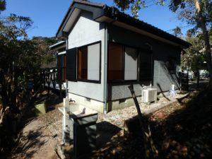 千葉県館山市岡田の不動産、山の中の別荘、田舎移住、週末籠る別荘に最適