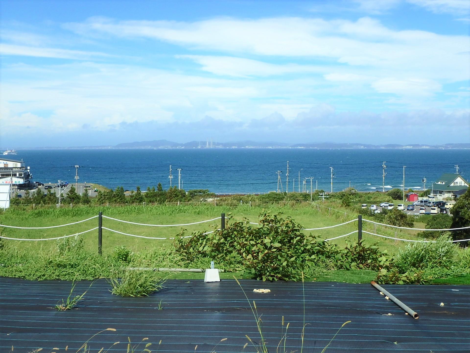 千葉県富津市金谷の土地、海一望の物件、大幅価格変更