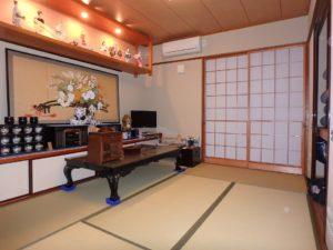 千葉県館山市の戸建て不動産,海が見える,豪華仕様,装飾が凝った東側和室