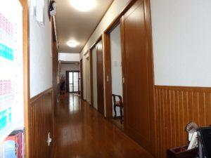 千葉県館山市の戸建て不動産,海が見える,豪華仕様,廊下を挟み対面は水回り