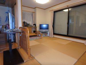 千葉県館山市の戸建て不動産,海が見える,豪華仕様,東側のマスタールームへ