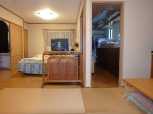 千葉県館山市の戸建て不動産,海が見える,豪華仕様,置畳付き洋室で約16帖