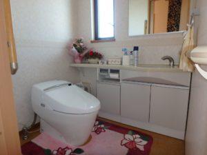 千葉県館山市の戸建て不動産,海が見える,豪華仕様,2階のトイレもゆったり