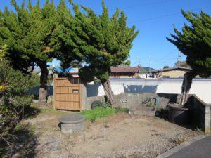 千葉県館山市の不動産,古家付き土地,移住用地,南東角地で陽当りが良い