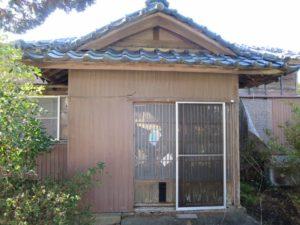 千葉県館山市の不動産,古家付き土地,移住用地,建物の状態はこんな感じです