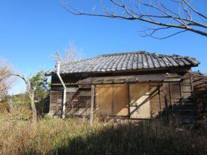 千葉県館山市の不動産,古家付き土地,移住用地,立地は良い場所