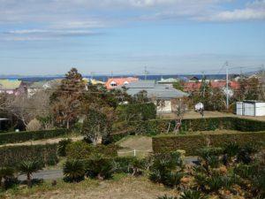 千葉県館山市加賀名の不動産,築浅戸建て,ポピーランド別荘地内,海望む,2階からは海を遠望します