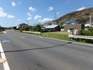 千葉県南房総市和田町白渚の不動産,海前の土地,接道は国道128号