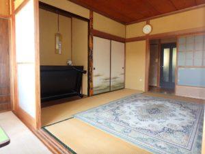 内房,千葉県富津市岩瀬の不動産,中古戸建て,別荘.移住,田舎暮らし,落ち着いた部屋ですね