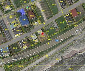 千葉県南房総市和田町白渚の不動産,海前の土地,立地をご確認ください