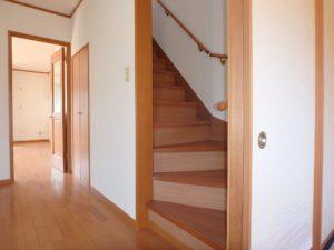 千葉県館山市加賀名の不動産,ポピーランド別荘地,海が見える物件,海望む別荘,続いて2階に上がります