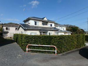千葉県南房総市下堀の不動産,旧三芳村中古戸建,田舎暮らし,垣根で囲まれてます