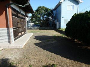 千葉県南房総市山下の不動産,旧三芳村中古住宅,リフォーム済,田舎暮らし移住,外回りを少し見てみます